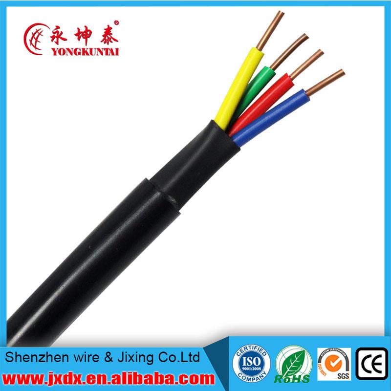 China 4 Core Copper Solid Wire Electric Control Wire - China Control ...