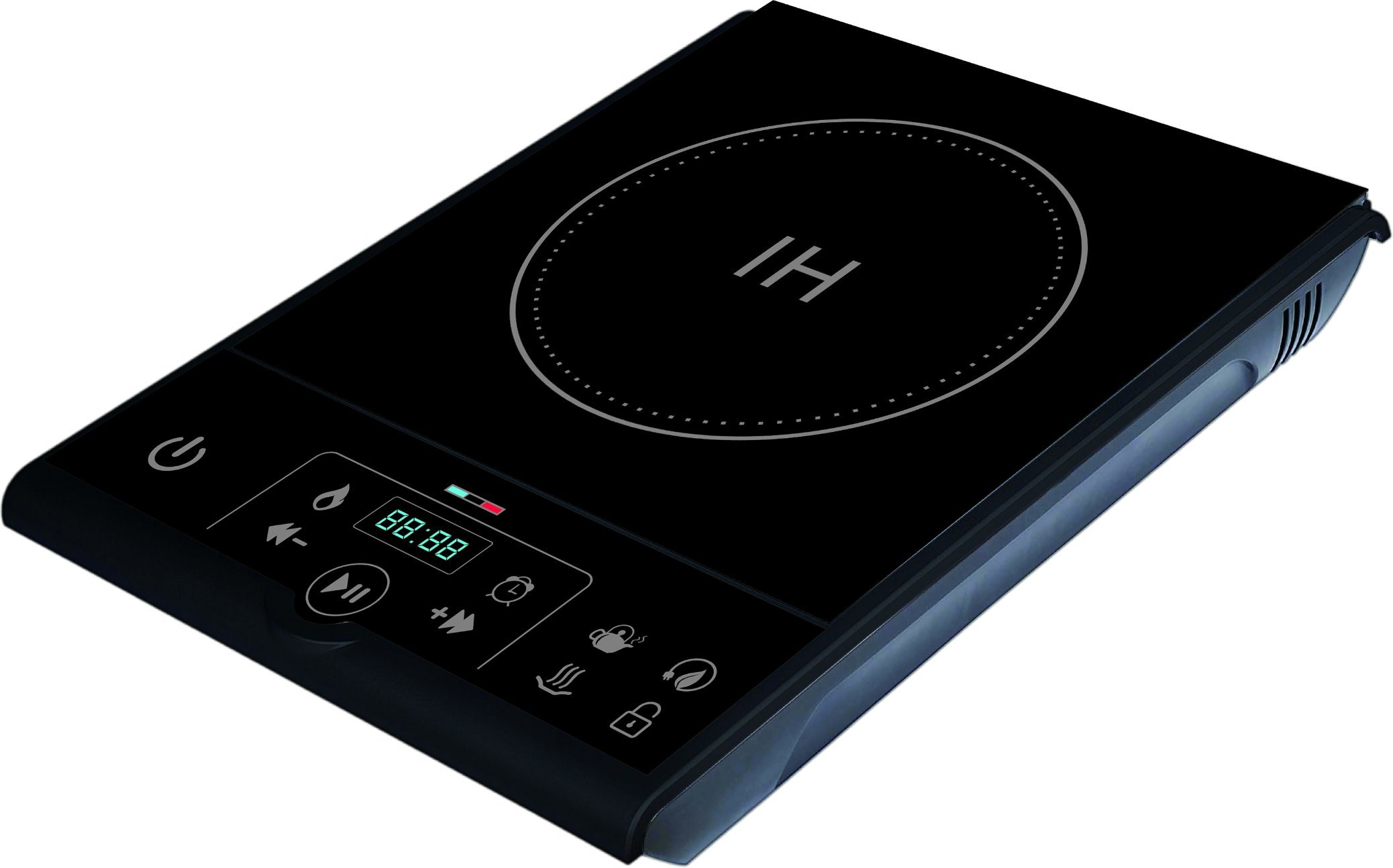 Push button 120V 1800W ETL C-ETL electric induction cooker for USA pictures & photos