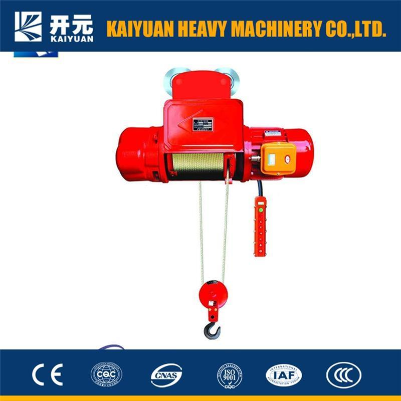 China Double Speed Wire Rope Electric Hoist with Rope Guide - China ...