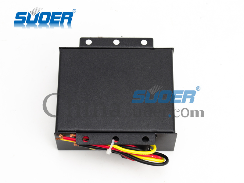 Suoer Power Converter DC 24V to 12V Car Power Converter 10A Electronic Converter (DC-10A) pictures & photos