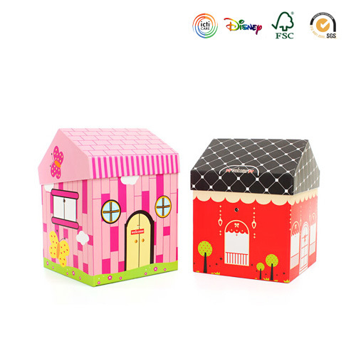 Fresh House Shape Holiday Gift Packaging Box (PB-131)