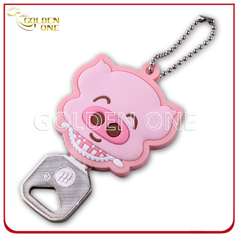 Promotion Gift Cute Cartoon Image PVC Key Cover