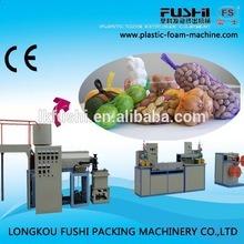 China FUJI Automatic Licensing Knotless Net Machine - China