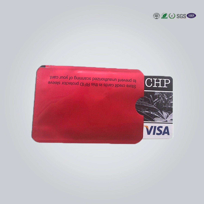 China Attractive Aluminum Foil Paper Rfid Blocking Card Holder