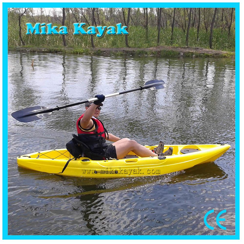 [Hot Item] Single Sit on Top Kayak Fishing Boats Plastic Canoe for Sale