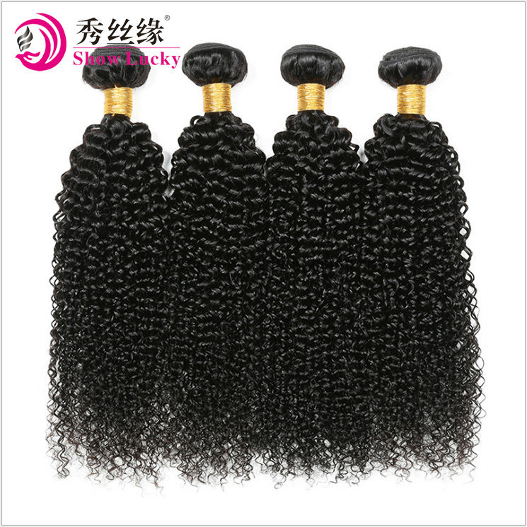 China Unprocessed Virgin Human Hair Extension Mongolian Afro Kinky