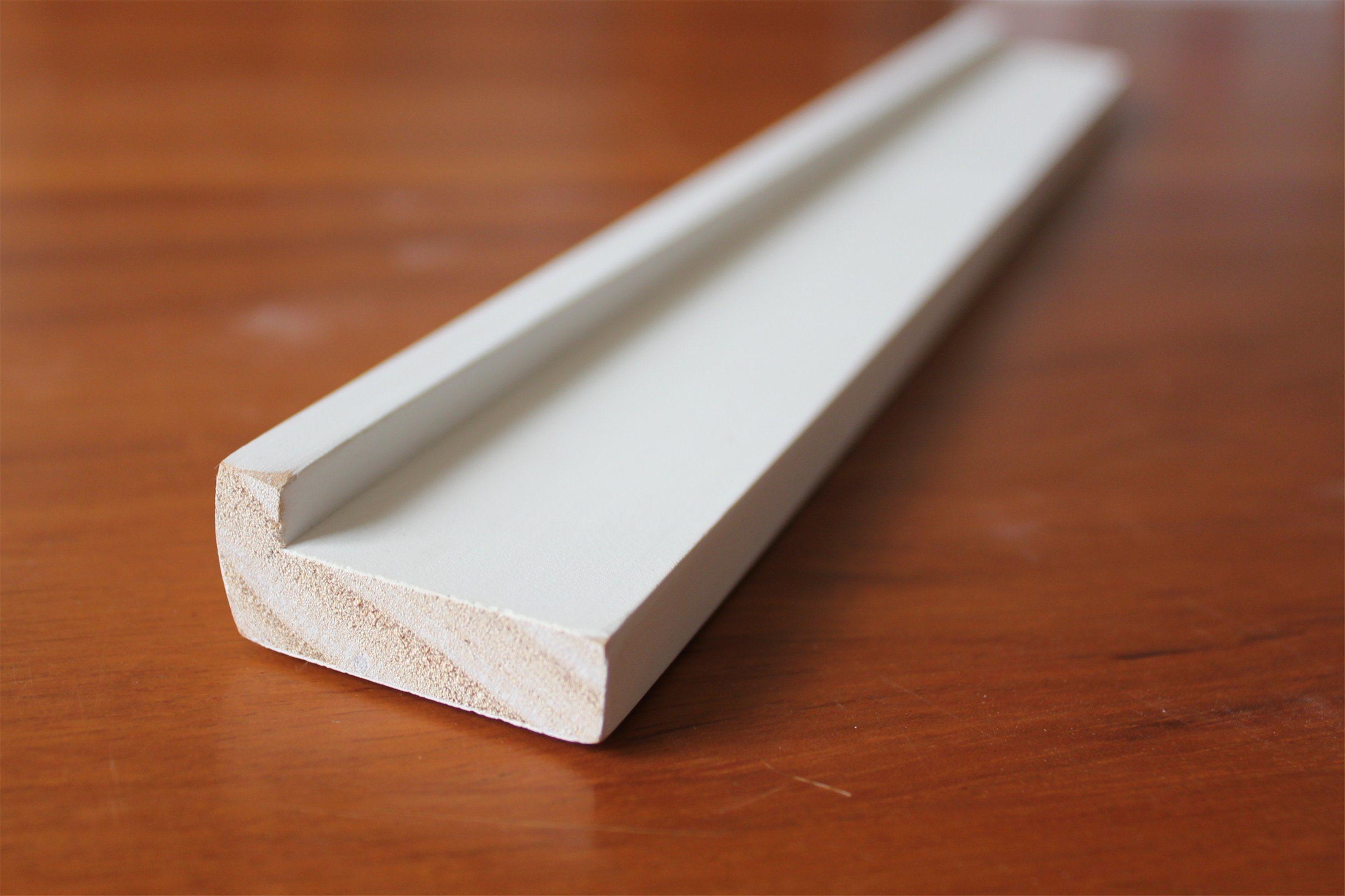 Modern House Design Primed Wood Interior Baseboard Mouldings Skirting Board