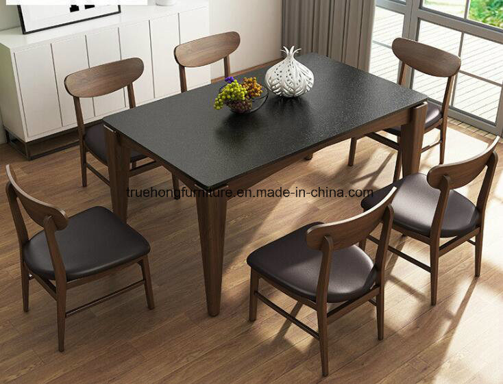 China Modern Design Restaurant Furniture Nature Solid Wood Table And Chairs Wooden Dinner Table Dinner Chairs Oem Restaurant Furniture China Wooden Dining Table Restuarant Furniture