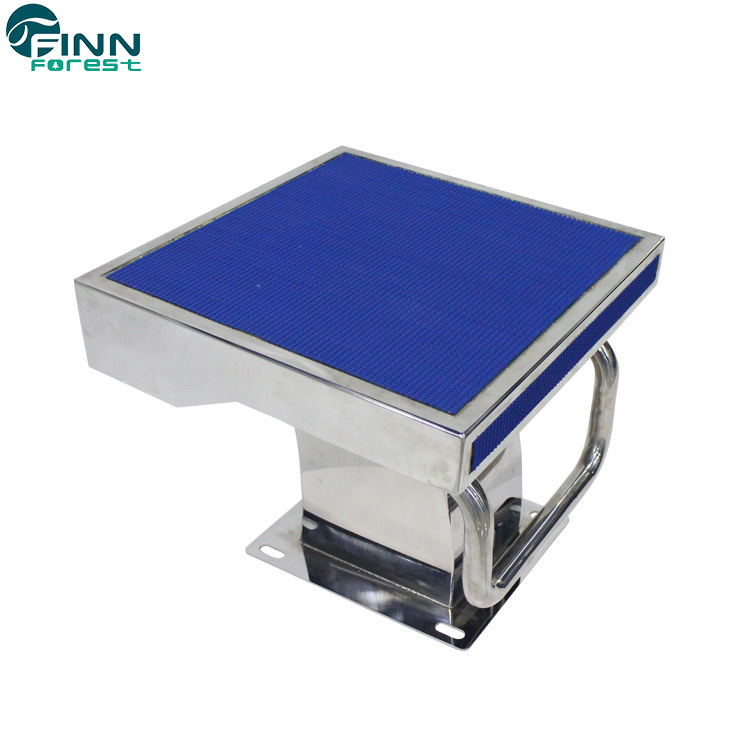 [Hot Item] Standard Stainless Steel One-Step Swimming Pool Diving Board  Starting Block