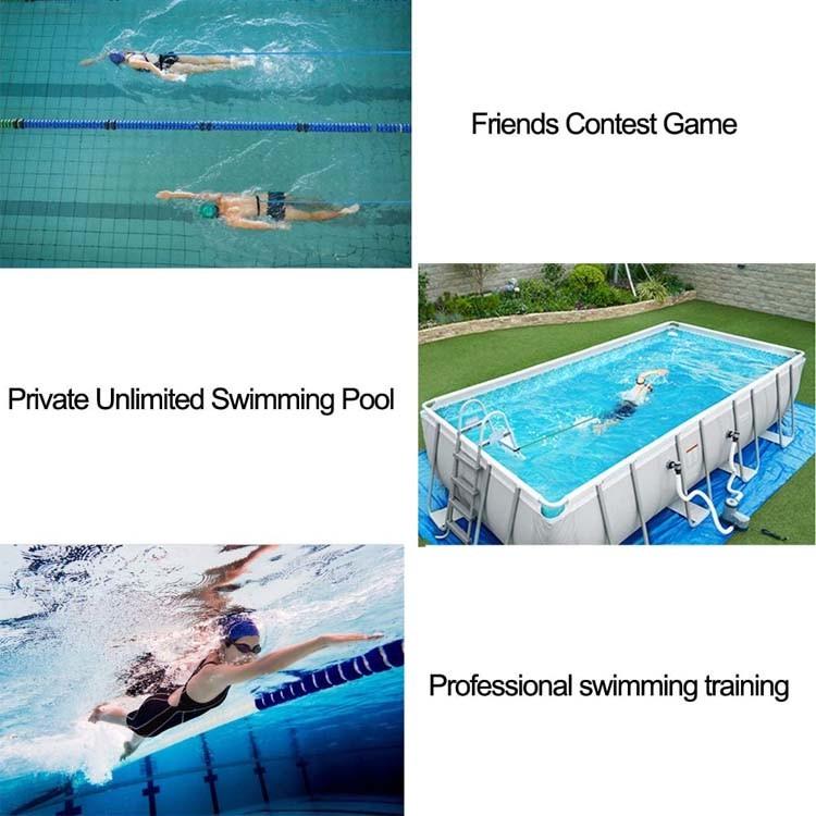 3//4M Swim Bungee Training Belt Swimming Resistance Safe Leash Exerciser Tether