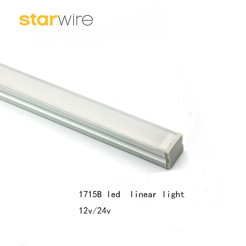 1715 15.8W 10W 5W /M Small Surface Mounted Square Lens Aluminum LED Linear Lighting pictures & photos