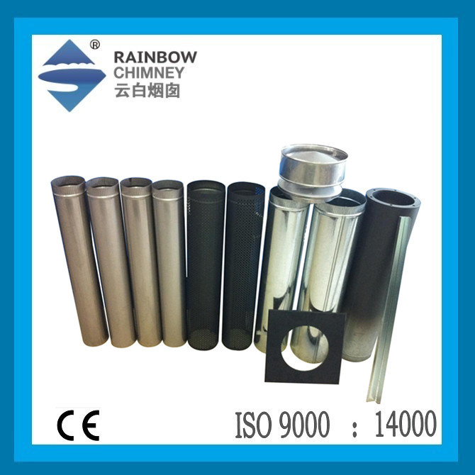 Ce Stainless Steel Pipe & Carbon Steel Pipe for Stove/Fireplace Chimney
