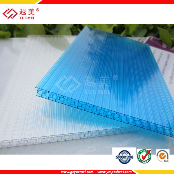 China Roofing Panels Polycarbonate Plastic Honeycomb Sheet ...