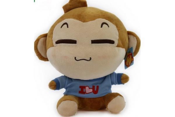 China Plush Cartoon Cute Monkey Stuffed Toy Tpwu19 China Plush