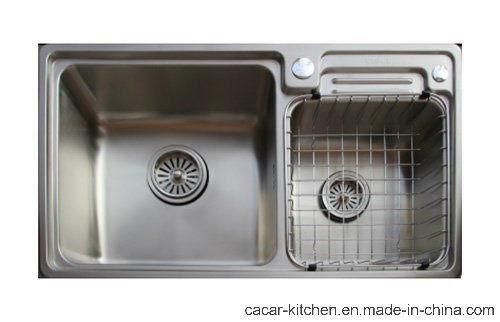 China Cacar Easy Cleaning Stainless Steel Kitchen Sink with Wire ...