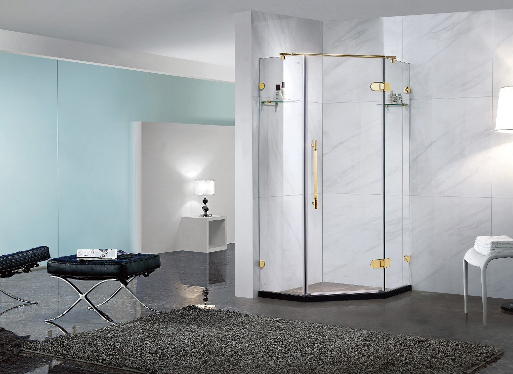 China Tempered Glass Shower Cubicle Ba-L703G - China Shower Cubicle ...