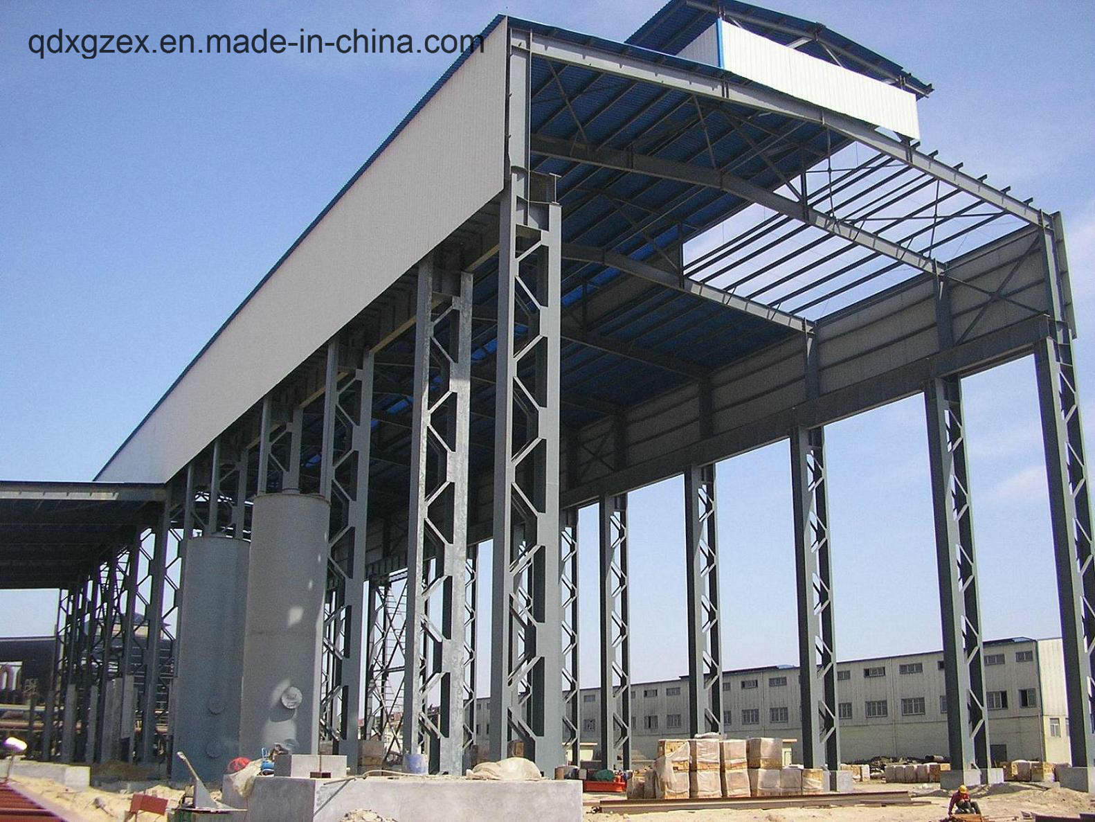 China Low Price Prefab Latticed Column Factory Steel