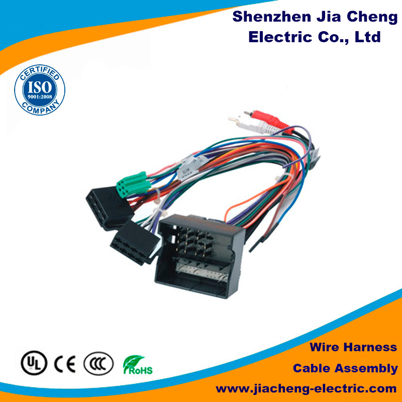 China 10 Wire Cable Assembly Solder Connection - China Electrical ...