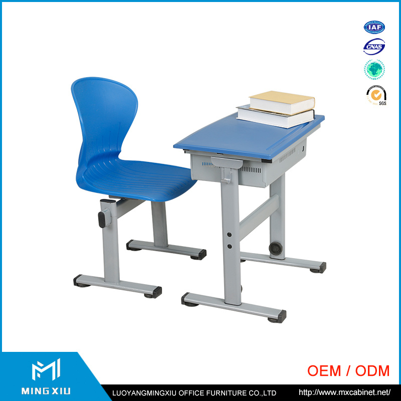 Luoyang Supplier Comfortable School Desk and Chair / Desks and Chairs Sets pictures & photos