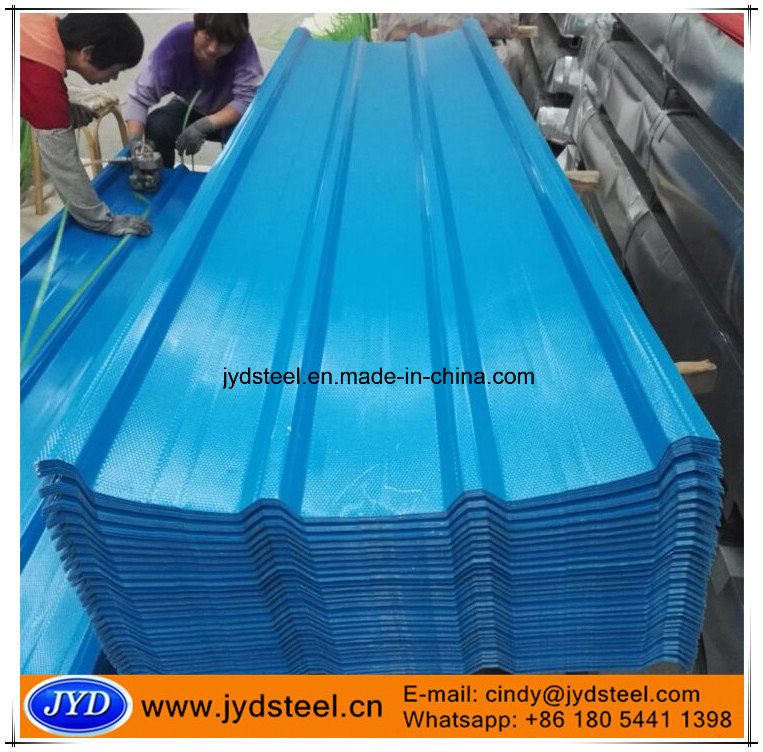 Embossed PPGI Steel Roofing Sheet pictures & photos