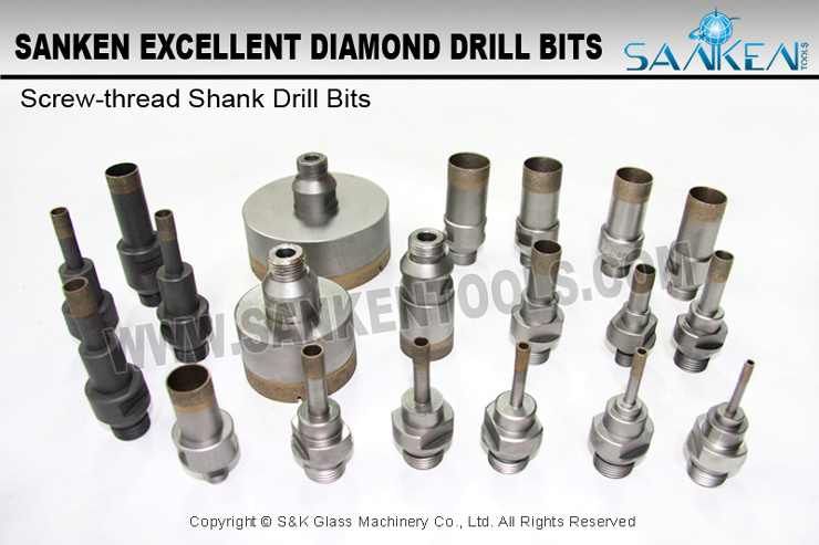 Drill Bit for Glass Hole Drilling