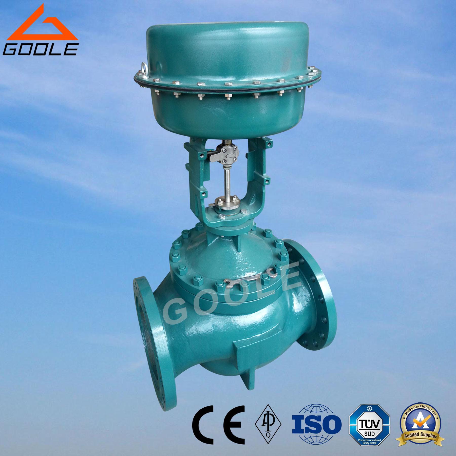 China Diaphragm Pneumatic Globe Type Flow Control Valve (HTS ...