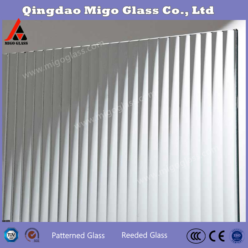 China Manufacturing Fluted Glass Panels Reeded Glass Door Panels Ribbed Glass Interior Door China Reeded Texture Glass Fluted Glass Door