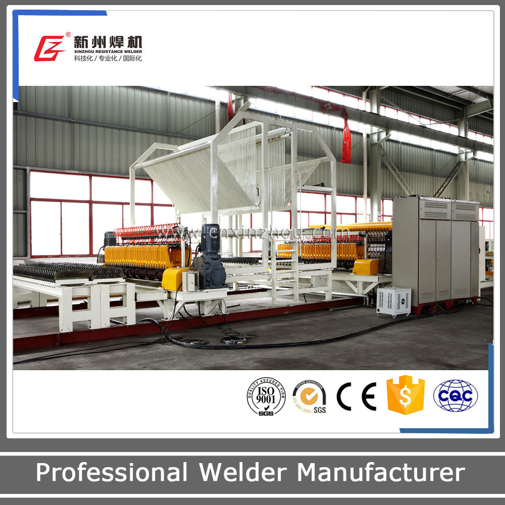 China Gwc-C Auto Wire Mesh Welding Production Line - China Wire Mesh ...