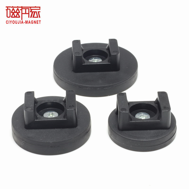 Rubber Coated Magnetic Cable Clips