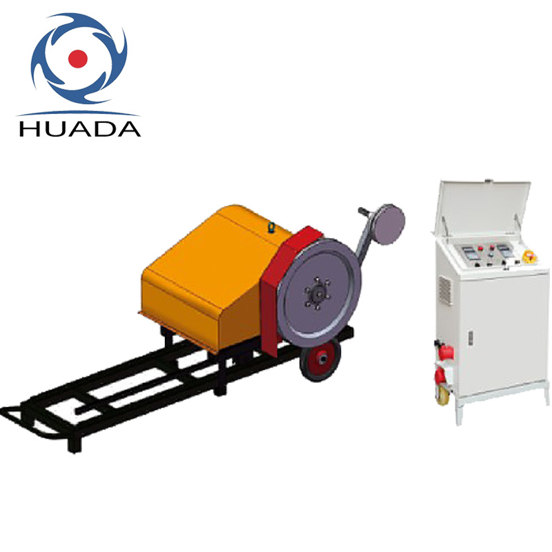 China Diamond Wire Saw Machine for Small Area Quarrying - China ...