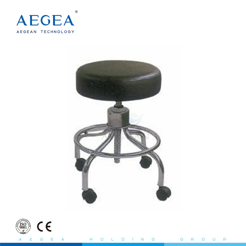 Hot Item Ag Ns001 With Wheels Height Adjule Bar Stools