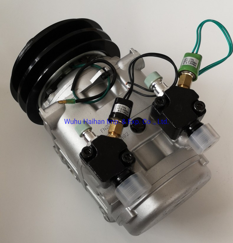 Middle Bus Air Conditioner Parts Compressor 506010-1720, 500610-9730 pictures & photos
