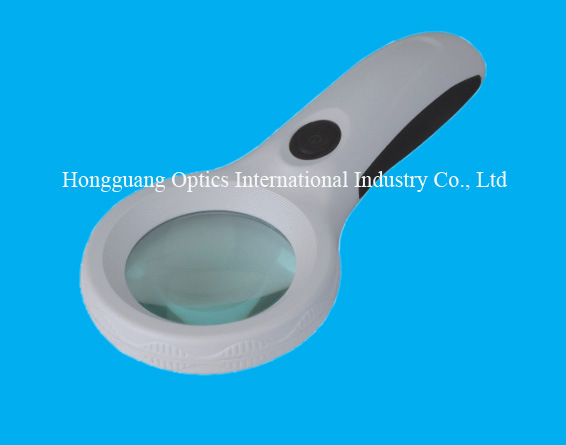 8 LED Handheld Magnifier with UV Lamp (9586)