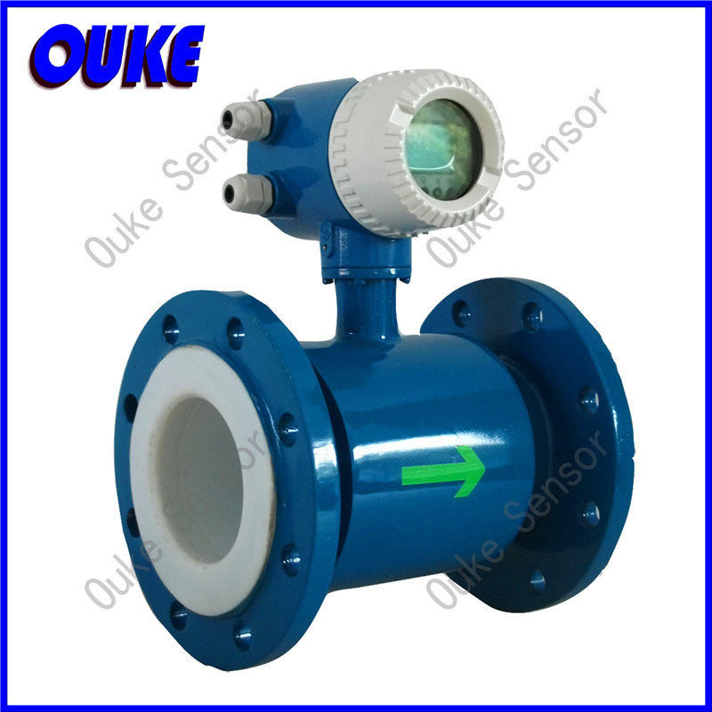 LCD Electromagnetic Flow Meter for Industrial Waste Water