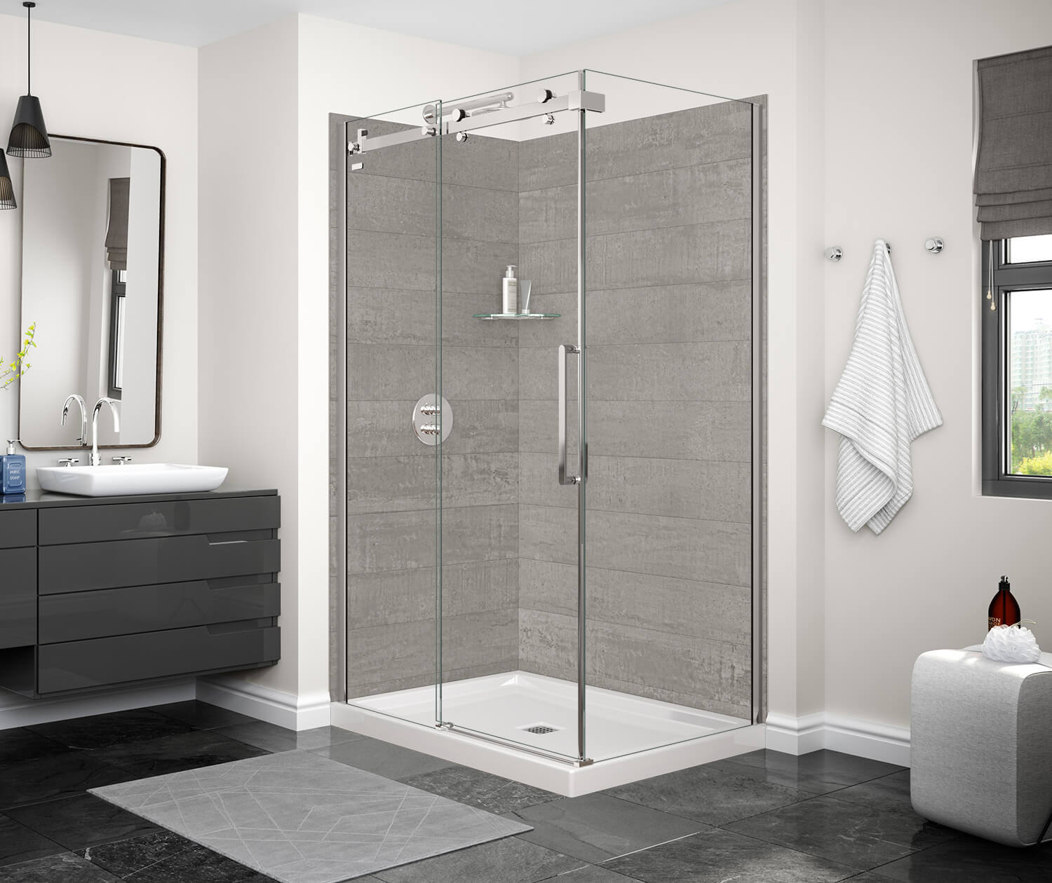 China Simple Frameless Bathroom Standing Shower Room China Aluminium Shower Room Shower Enclosure