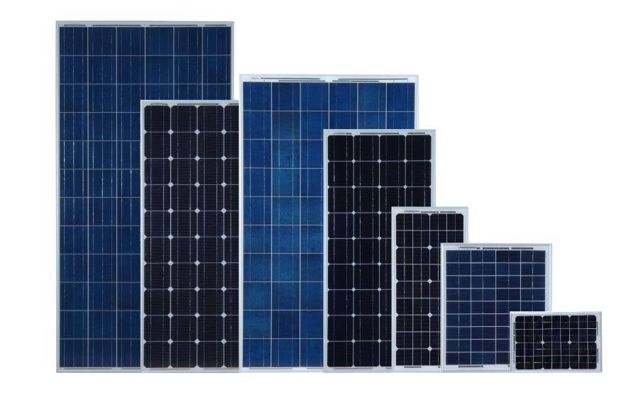 High-Efficiency 105W Mono Crystalline Solar Panel