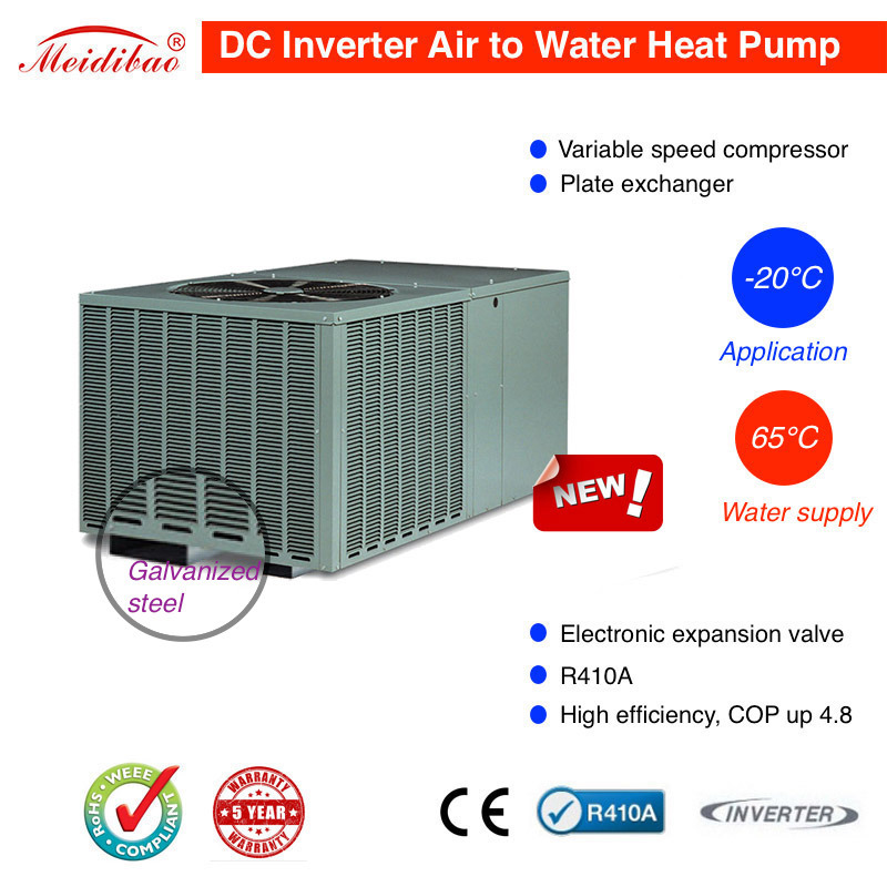 12kw DC Inverter Air to Water Heat Pump (Variable speed)