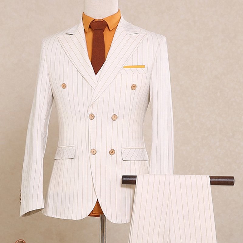New Italian Style Men Business Suits with T/R