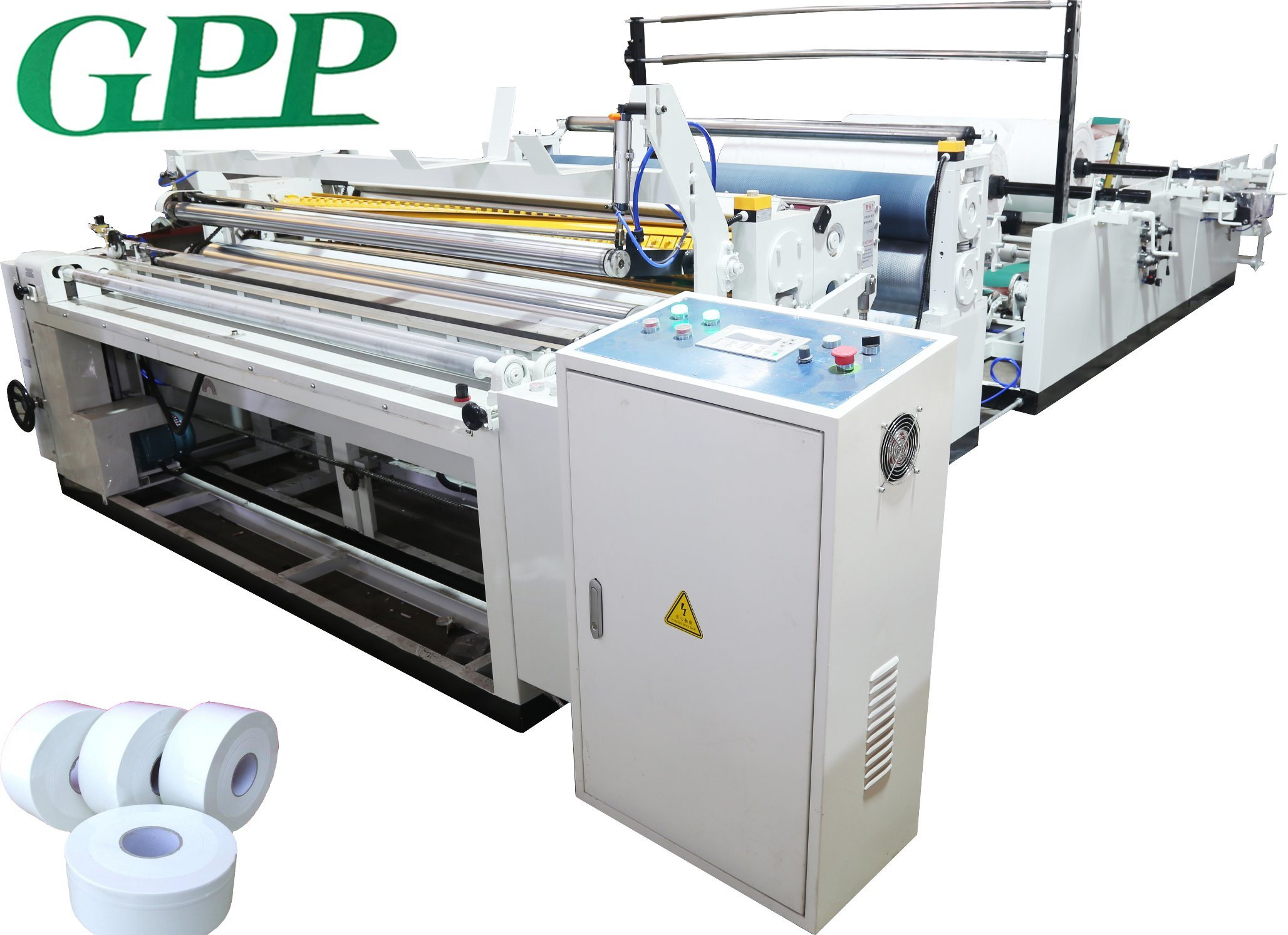 Full-Automatic Jumbo Toilet Paper Prodution Line Machine pictures & photos