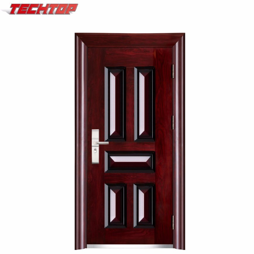 Tps 044 Chinese Manufacturer Mexican Vinyl Exterior Door Used 48
