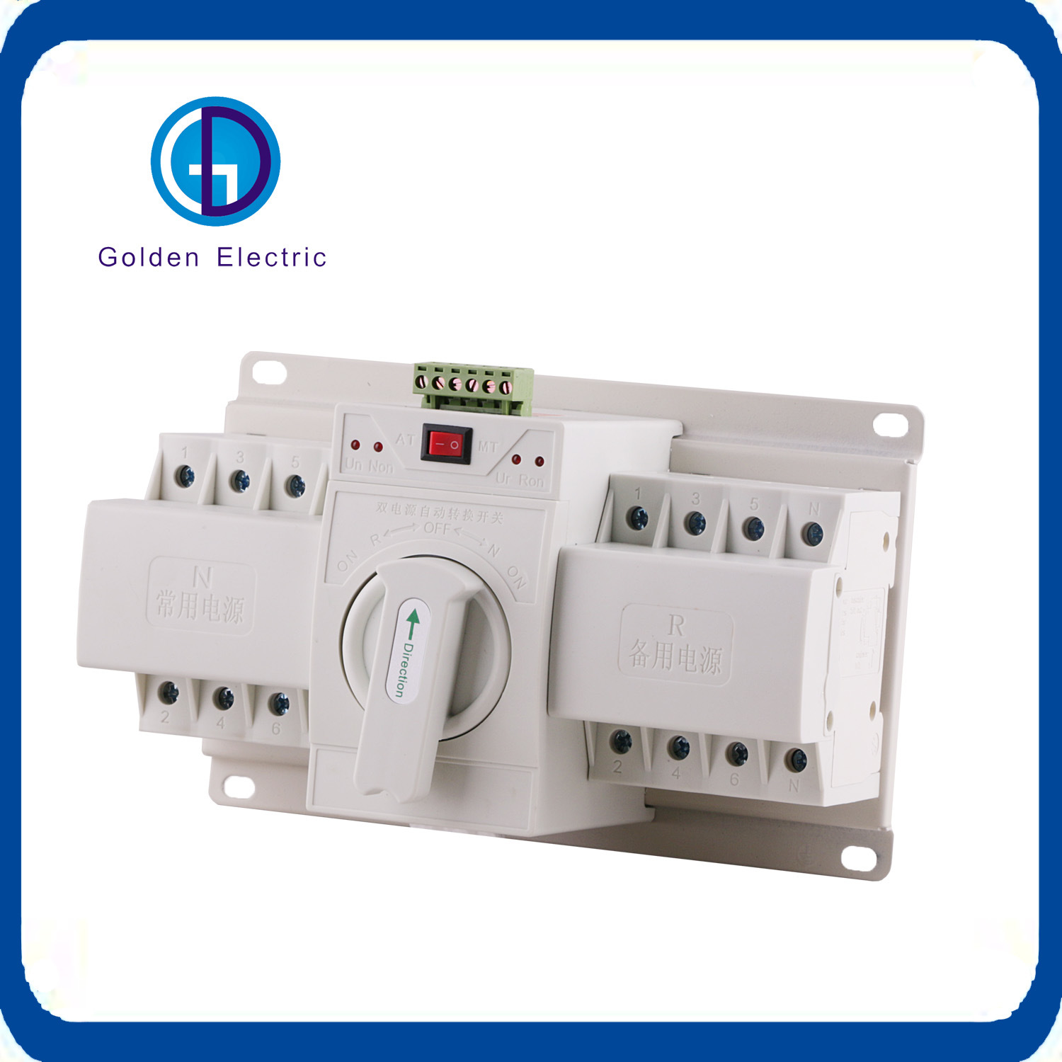 China Electric Dual Power Automatic 4 Pole Changeover Switch From 1A ...