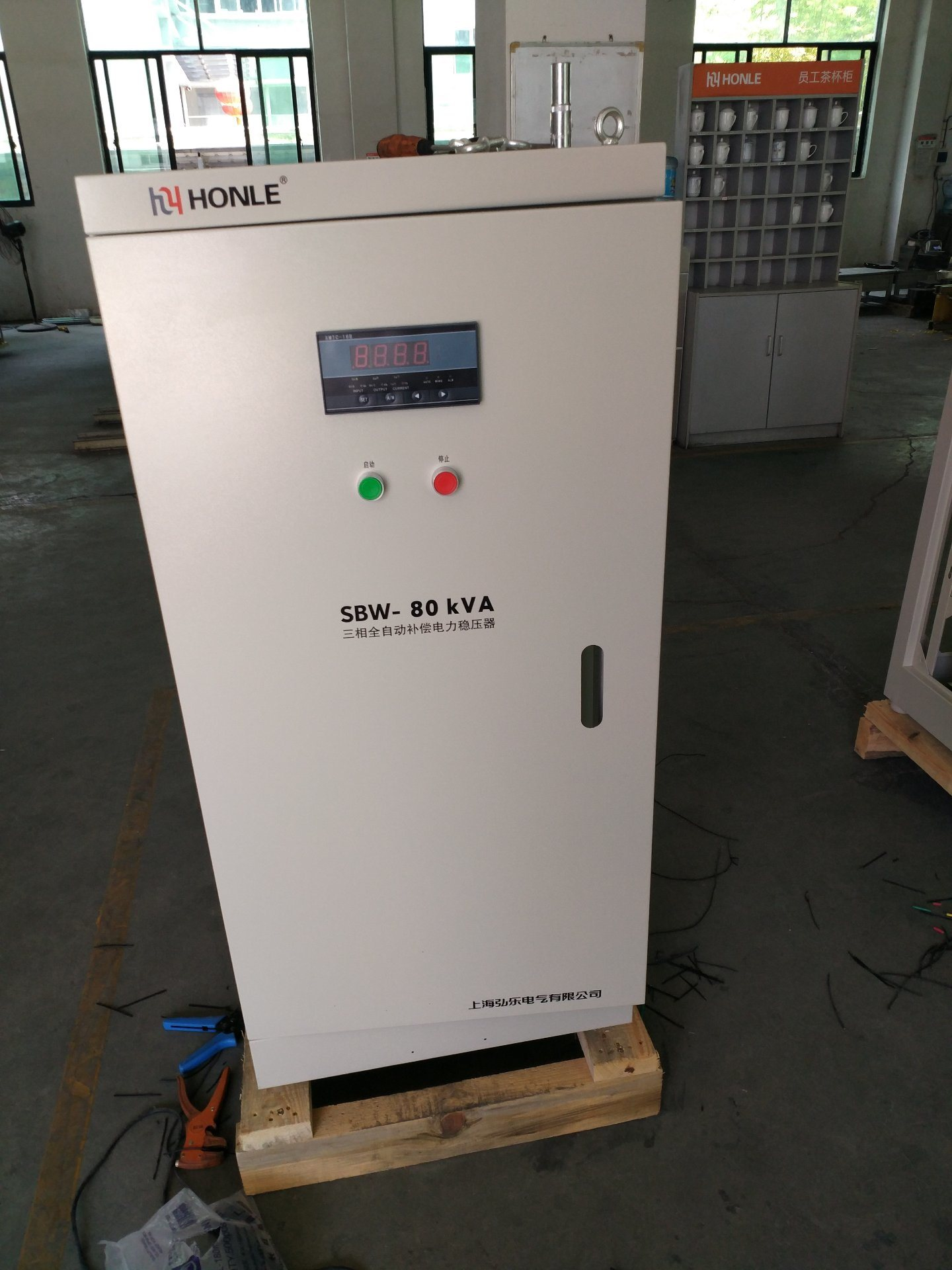 China Whole House for 10kVA Voltage Stabilizer / Parts Photos ...