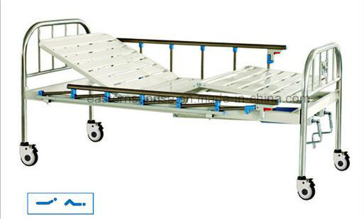 Cheap Price Hospital Use Medical Steel Bed pictures & photos