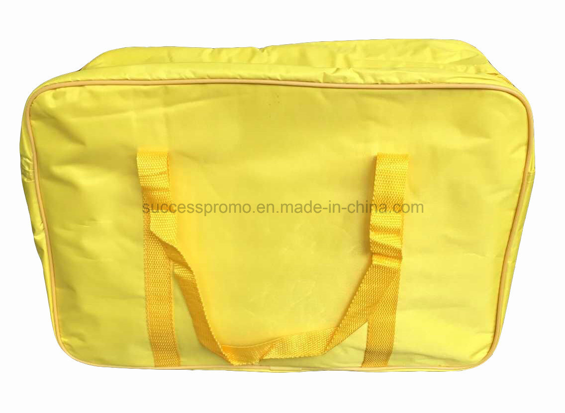 70d/210d/420d Polyester Insulated Picnic Cooler Lunch Bag with Long Handle