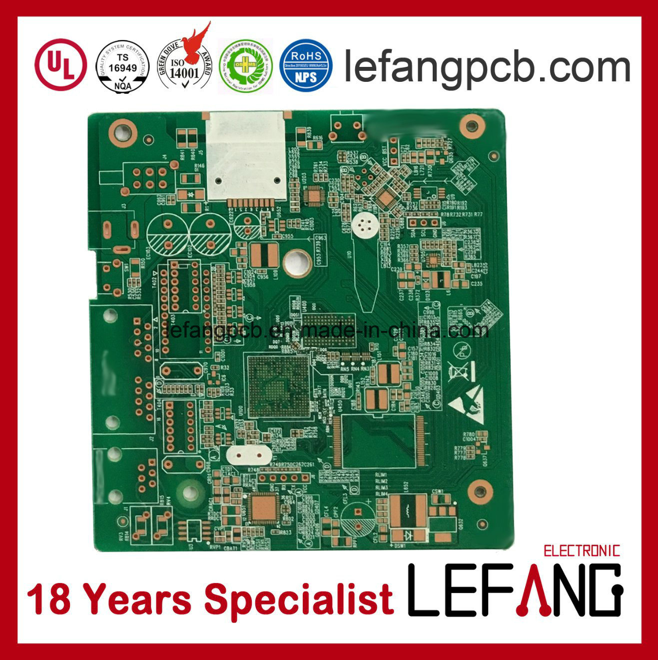 china professional tv parts circuit board pcb from shenzhen china