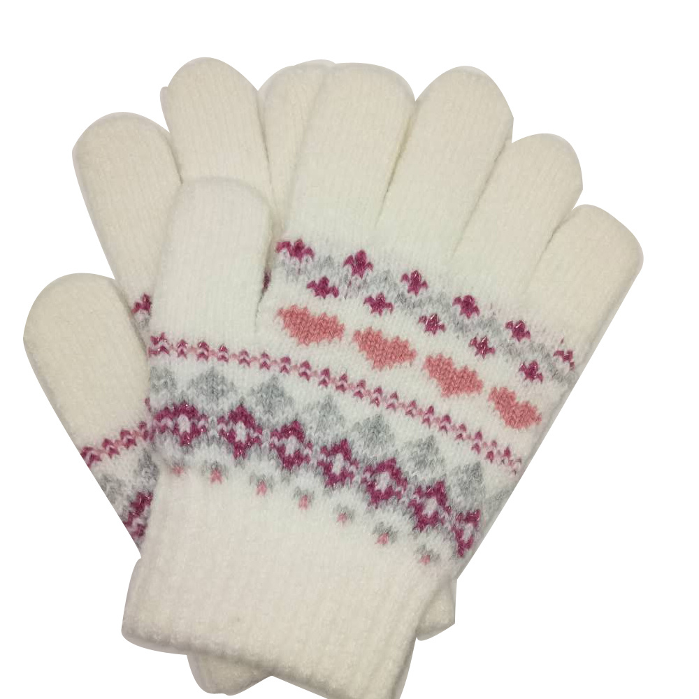 Childrens Winter Woolly Knitted Warm Magic Gloves
