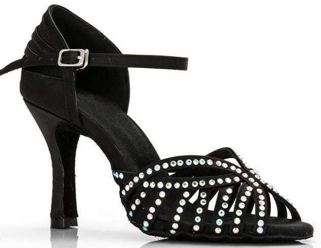 Crystals Tango Shoes Ballroom Dance