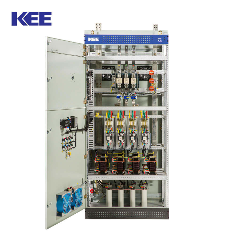 China Low Voltage Reactive Power Capacitor Compensation Cabinet China Compensation Cabinet Capacitor Compensation Cabinet