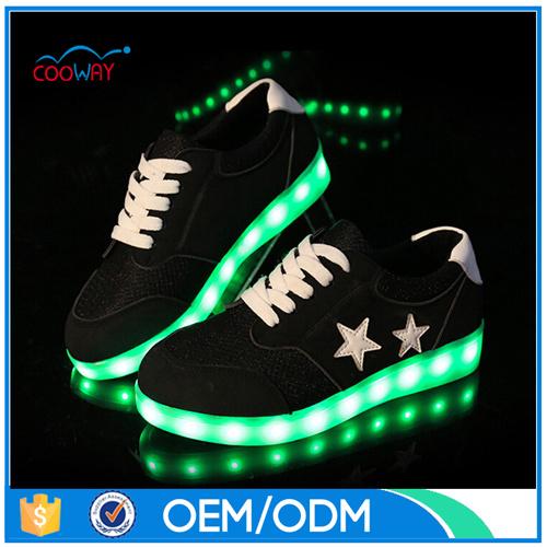 simulation led shoes
