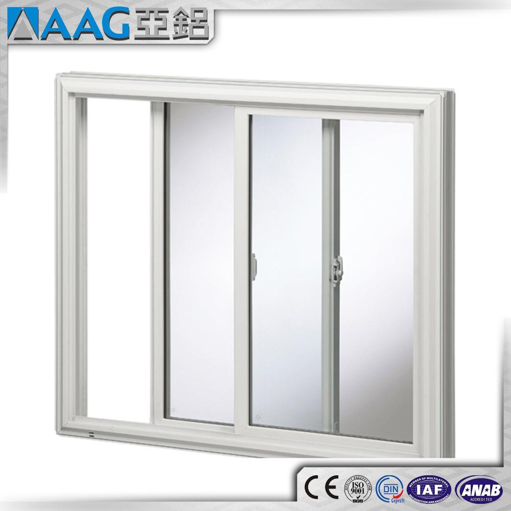 China Aluminium Sliding Double Glass Outside Door With Locks Photos